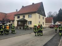 In Alleringhausen ereignete sich am Samstag ein Kaminbrand.