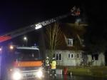 In Kassel ereignete sich am Samstag ein Dachstuhlbrand.