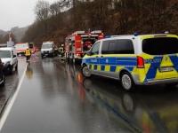Zwischen Beringhausen und Messinghausen ereignete sich am Sonntag ein Unfall.