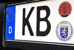 Kennzeichen KB-NL 79 an Aygo abgeschraubt