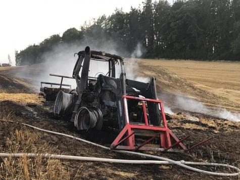 Am 27. Juli ereignete sich ein Großbrand bei Twiste.