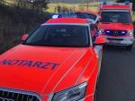 Die Verletzten wurden mit Rettungswagen in umliegende Krankenhäuser gebracht.