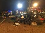 Bei Thülen ereignete sich am Donnerstag ein schwerer Unfall.