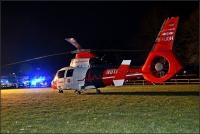 Feuerwehr, Luftrettung, Polizei, Rettungsdienst und Notarzt waren in Berghausen im Einsatz.