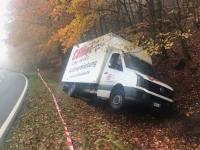 Am 17. November kam es bei Bad Wildungen zu einem Alleinunfall.