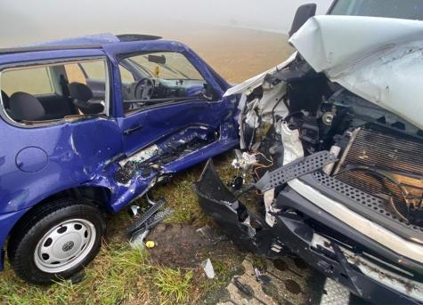Ein schwerer Verkehrsunfall ereignete sich am 8. Oktober zwischen Löhlbach und Haina.