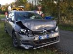 Am 14. Oktober ereignete sich ein Unfall auf der Landesstraße zwischen Schreufa und Sachsenberg.