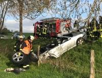 Am 12. Mai ereignete sich ein Alleinunfall auf der L 3076 zwischen Vasbeck und Massenhausen.
