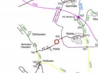 Die Fahrbahndecke bei Hörle wird erneuert, dazu muss die Kreisstraße 3 gesperrt werden.