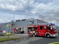 Etwa 50 Einsatzkräfte wurden am Sonntag in die Siegener Straße alarmiert.