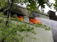 In Bad Wildungen ereignet sich derzeit ein Großbrand.