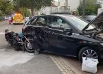 In Bad Wildungen ereignete sich am Montag ein schwerer Verkehrsunfall.
