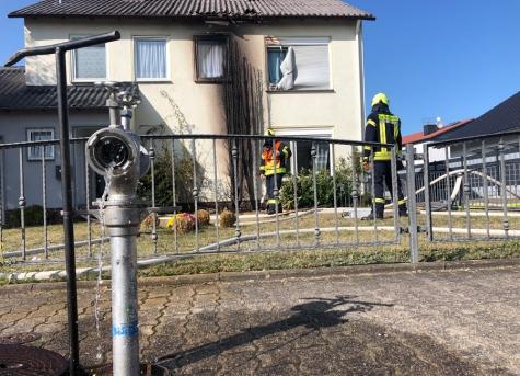 In Korbach wurde am Samstag ein Wohnhausbrand gemeldet.