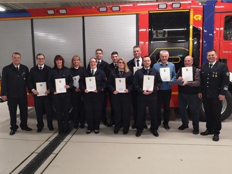 In Willingen fand die Jahreshauptversammlung der Feuerwehr statt.