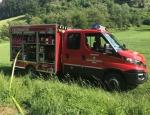 Feueralarm wurde am 19. Juni in Rhena ausgelöst - die Wehr verhinderte Schlimmeres.