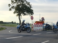 Die Polizei rückte am 15. September zu einem Unfall zwischen Schweinsbühl und Rhena aus.