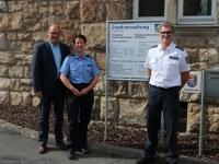 Von links: Carsten Vahland, Michaela Urban und Manfred Bergener.