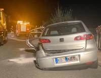 Alkohol im Blut, zu schnell unterwegs, keine Fahrerlaubnis.