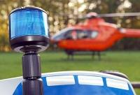 Christoph 7, Polizei und der Notarzt waren am 29. Juni in Külte schnell zur Stelle - die Ersthelfer wurden für ihren Einsatz lobend erwähnt.