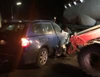 Ein Verkehrsunfall am Ortseingang von Elleringhausen rief am Mittwoch Polizei und Rettungskräfte auf den Plan