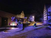Einsatz der Wehren am 19. Januar 2019 in Willersdorf