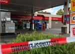 An dieser Tankstelle ereignete sich am Mittwochmorgen ein Angriff auf eine Angestellte.