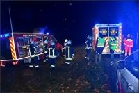 Rettungsdienst, Feuerwehr und Polizei waren schnell zur Stelle.