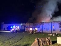 In den frühen Morgenstunden des 7. Juli wurde ein Großfeuer in Battenfeld gemeldet.