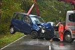 Beide Fahrzeuge wurden nach dem Unfall abgeschleppt und waren nicht mehr fahrbereit.