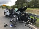 Auf der Bundesstraße 253 ereignete sich am Freitag (1. Mai 2020) ein schwerer Verkehrsunfall.