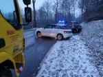 Am 1. Februar ereignete sich ein Unfall auf der Wildunger Landstraße