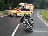 Am 12. Juli ereigneten sich zwei Unfälle auf der B 251 - eine Person wurde so schwer verletzt, dass der Rettungshubschrauber Christoph 44 angefordert werden musste.