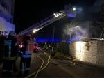 Am 9. und 10. Mai rückte die Feuerwehr Bad Wildungen zu Lösch- und Nachlöscharbeiten in die Brunnenallee aus.