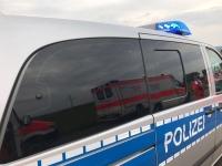 Die Schwerverletzte wurde mit einem Rettungswagen in ein Krankenhaus gebracht.
