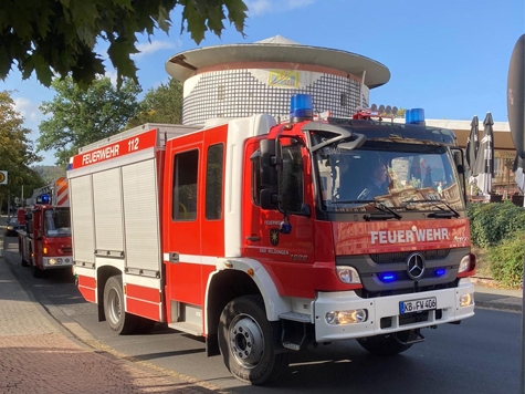 Die Freiwillige Feuerwehr Bad Wildungen musste am Donnerstag zu drei Einsätzen ausrücken.