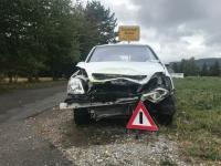 Ein Verkehrsunfall ereignete sich bei Wethen am 25. September 2019.