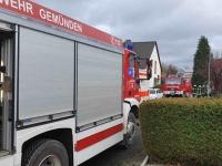 Die Feuerwehren aus Gemünden (Wohra) und Grüsen waren am 12. November im Einsatz.