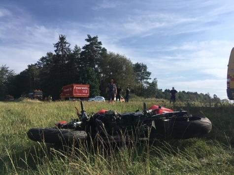 Zwischen Löhlbach und Dainrode ereignete sich am Mittwoch ein schwerer Verkehrsunfall.