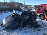 Am 23. November kam es am Stryckbahnhof zu einer Kollision zwischen einem Zug und einem Pkw - der Fahrer wurde schwer verletzt.