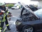 Ein Motorbrand führte am 5. Juli zu einem Einsatz der Freiwilligen Feuerwehr Bad Wildungen.