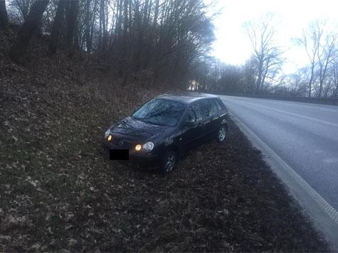 Zwischen Korbach und Berndorf verunfallte am Mittwoch ein 30-Jähriger.