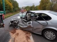Ein Verkehrsunfall im Nachbarkreis ereignete sich am 17.Oktober - Polizeikräfte aus Bad Wildungen unterstützen die Kollegen aus dem Schwalm-Eder-Kreis.