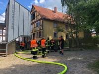 In Landau kam es am 15. Juni zu einem Wohnhausbrand.