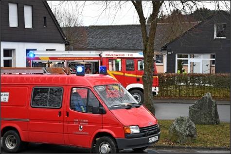 Am Morgen kam es zu einem Brand der Heizung an der Grundschule in Oberschledorn.