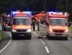 Feuerwehr, Polizei, Rettungshubschrauber und Rettungsdienste waren am 17. September in Marsberg im Einsatz.