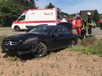 Ein schwerer Verkehrsunfall ereignete sich am 2. Juni 2020 auf der Landesstraße 3078 bei Rhenegge im Landkreis Waldeck-Frankenberg.