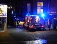"""Am Mittwochabend (5. Februar) wurden die Feuerwehren aus Bad Wildungen und Braunau sowie der Rettungsdienst mit dem Einsatzstichwort """"F 2"""" zu einem Zimmerbrand in einem Mehrfamilienhaus in der Brunnenallee alarmiert."""