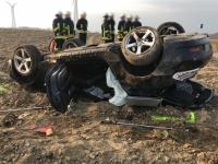 Am Rösenbecker Kreuz ereignete sich am Donnerstag ein schwerer Unfall.