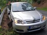 Dieser Toyota mit Frankenberger Zulassung musste am 6. Juli abgeschleppt werden.