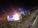 Am 16. Dezember ereignete sich ein Unfall im Begegnungsverkehr auf Landesstraße zwischen Sudeck und Adorf.